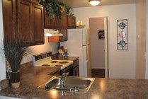 1200 sqft C plan Kitchen
